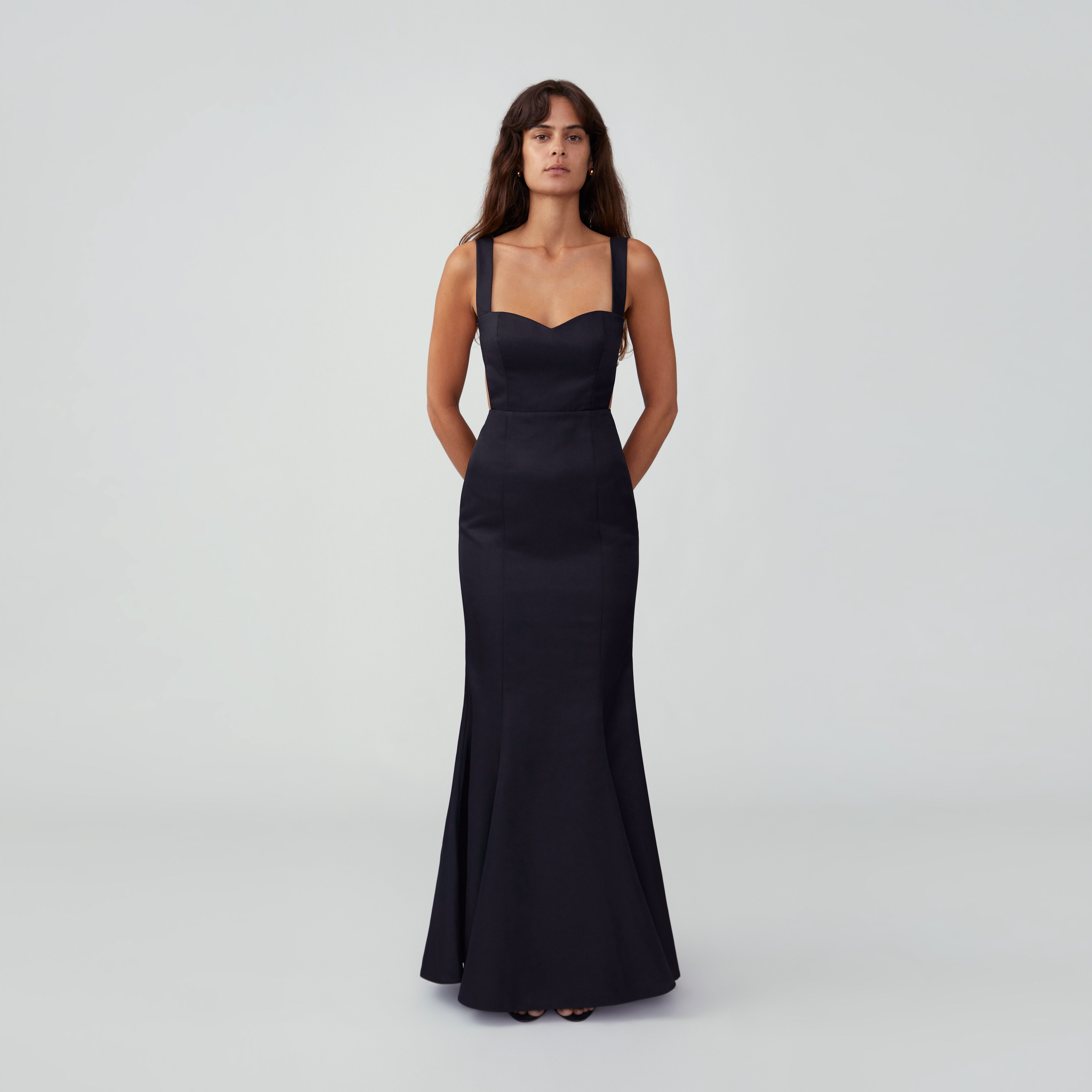 Strappy Mermaid Gown